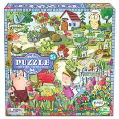eeBoo Puzzle Zahrada 64 dílků