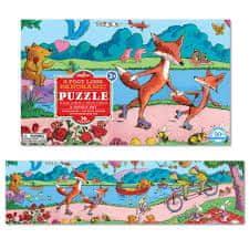 eeBoo Panoramatické puzzle - Krásný den 36 dílků
