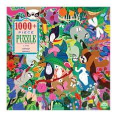 eeBoo Puzzle Lenochodi 1000 dílků