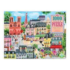 eeBoo Den v Paříži 1000 dílků