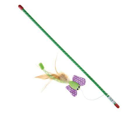 IMAC Mačja igračka - štap s leptirom, 47 cm
