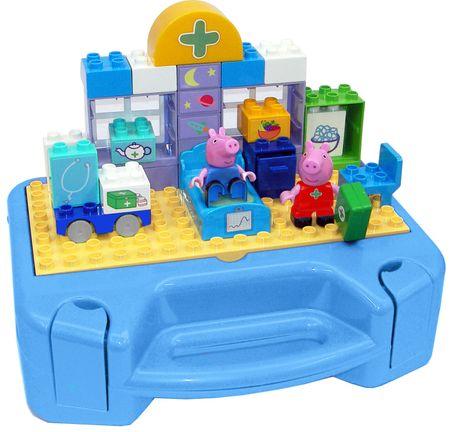 BIG Zestaw z kuferkiem PlayBig BLOXX Peppa Pig