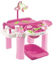 ECOIFFIER Dječji stol za presvlačenje i stol za igranje s kadom