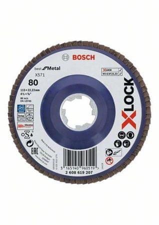 BOSCH Professional brusilna plošča X-LOCK (2608619207)