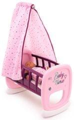 Smoby BN Kolíska s baldachýnom pre bábiky