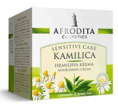 Kozmetika Afrodita Kamilica Sensitive, hranjiva krema, za suhu i osjetljivu kožu, 50 ml