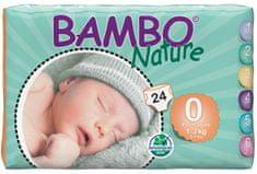 Bambo Nature pieluszki 0 Premature (1-3 kg) 24 szt.