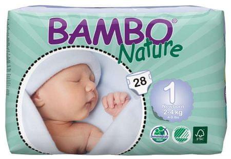 Bambo Nature Otroške hlačne plenice 1 New born (2-4 kg), 28 kosov