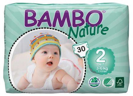 Bambo Nature Otroške hlačne plenice 2 Mini (3-6 kg), 30 kosov