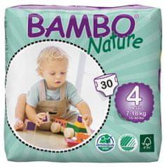 Bambo Nature Otroške hlačne plenice 4 Maxi (7-18 kg), 30 kosov