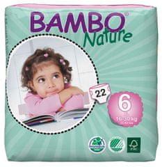 Bambo Nature 6 XL (16-30 kg) 22 ks