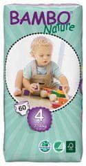 Bambo Nature Otroške hlačne plenice 4 Maxi (7-18 kg), 60 kosov