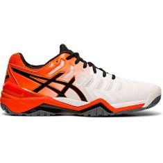 Asics Pánská tenisová obuv Gel Resolution   bílá/ oranžová