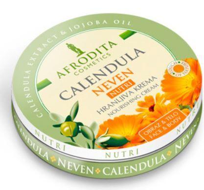 Kozmetika Afrodita Calendula Nutri,hralnjiva univerzalna krema, 150 ml