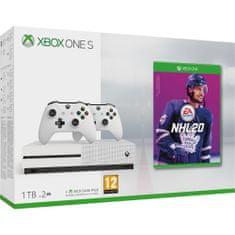 Microsoft Xbox One S 1 TB + 2x bezdrôtový ovládač + NHL 20