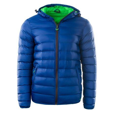 ELBRUS muška jakna Forsol Navy Peony/Poison Green, M, plava/zelena