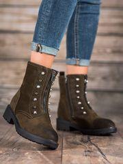 Dámske členkové topánky 58572