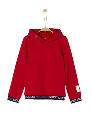 s.Oliver bluza chłopięca S czerwona