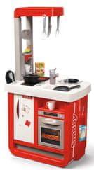 Smoby Kuchnia elektroniczna Bon Appetit, czerwono - biała