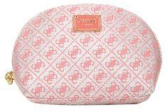 Guess Dámská kosmetická taška G Lurex Dome Rose-Ros