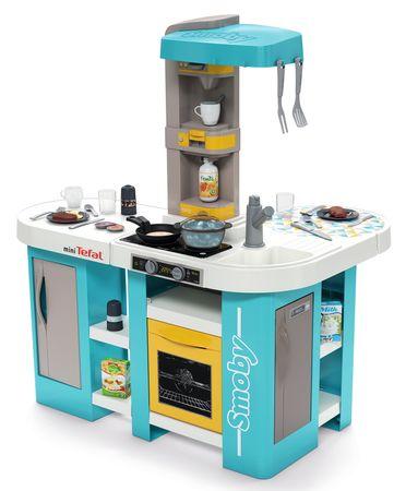 Smoby kuhinja Studio Tefal XL Bubble, elektronika, modro-rumena