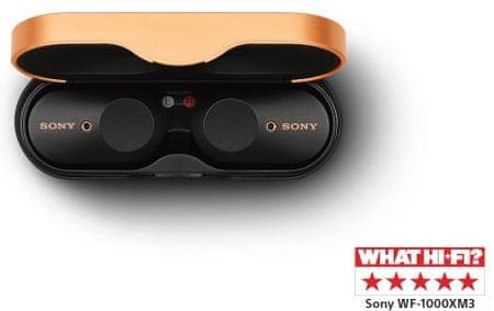 Sony WF-1000X M3 črne - Odprta embalaža
