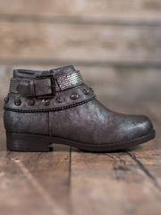 Stylomat Brokátové dámské boty