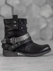 BESTELLE Dámské kotníkové boty biker boots