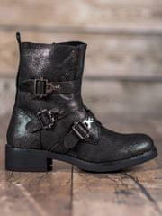 BESTELLE Módní kotníkové boty workery