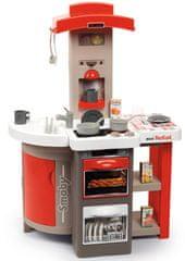 Smoby Kuchyňka skládací elektronická Tefal Opencook, červená