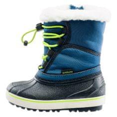 Iguana detské topánky FIRMIN MID KIDS ROYAL / BLACK / LIME