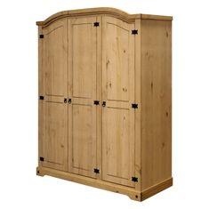 IDEA nábytek Skříň 3dveřová CORONA vosk