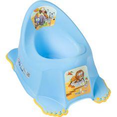 Tega Dětský nočník protiskluzový Safari modrý