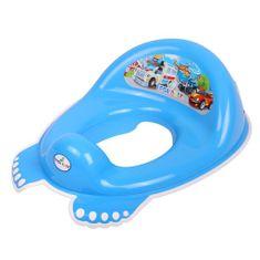 Tega Dětské protiskluzové sedátko na WC Autíčka modré