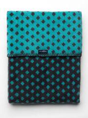 Womar Dětská bavlněná deka se vzorem Womar 75x100 grafitovo-tyrkysová