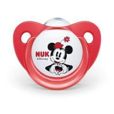 Nuk Šidítko Trendline NUK Disney Mickey Minnie 6-18m červené Box