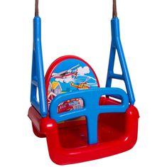 Tega Dětská houpačka 3v1 car Swing red