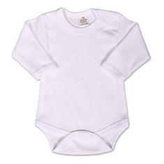 NEW BABY Body dlouhý rukáv New Baby - bílé - 50 (0 m)