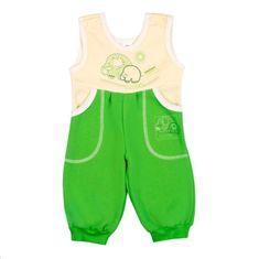 NEW BABY Dětské lacláčky New Baby Happy elephant zelené - Dětské lacláčky New Baby Happy elephant zelené