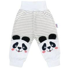 NEW BABY Kojenecké tepláčky New Baby Panda - 68 (4-6m)