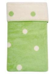 Womar Dětská bavlněná deka Womar 75x100 zelená