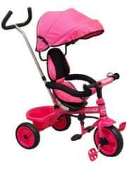 Baby Mix Dětská tříkolka Baby Mix pink