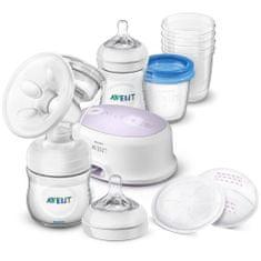 Philips Avent Elektronická odsávačka Avent Natural + sada na kojení