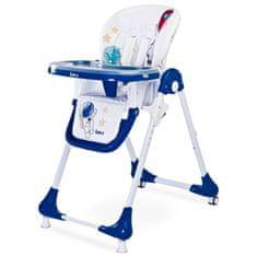 Caretero Jídelní židlička CARETERO Luna navy