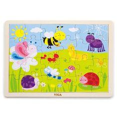 Viga Dětské dřevěné puzzle Viga Park