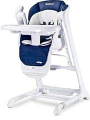 Caretero Dětská jídelní židlička 2v1 Caretero Indigo navy