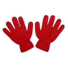 NEW BABY Dětské zimní rukavičky New Baby červené - 110 (4-5r)