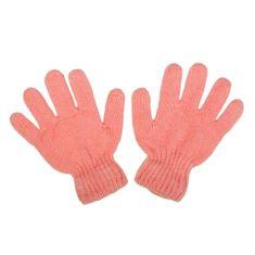 NEW BABY Dětské zimní rukavičky New Baby světle růžové - 104 (3-4r)