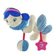 Baby Mix Hračka na postýlku Spirála Baby Mix námořník holka blue
