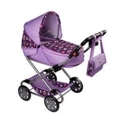 NEW BABY Dětský kočárek pro panenky 2v1 New Baby Andrea